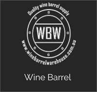 Wine Barrel Warehouse Brad Mayo
