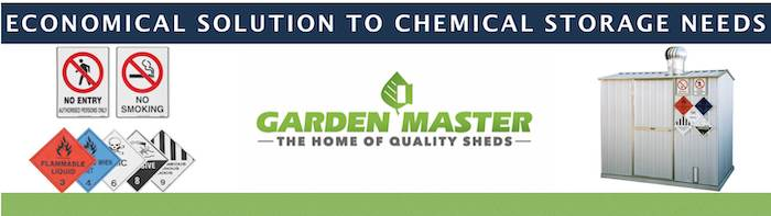 Chemical Sheds by Garden Master